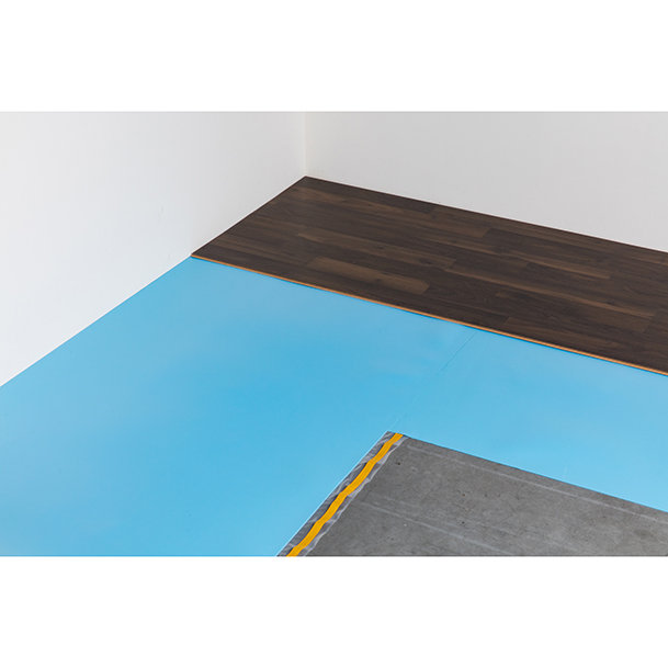 Bluefloor noise reduction underlay for laminate flooring