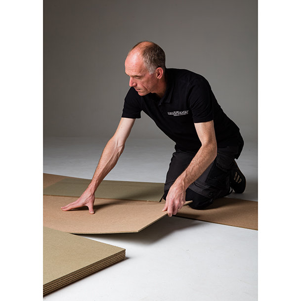 Marathon Super acoustic, fast-track subfloor prep system, for floating cushion vinyl