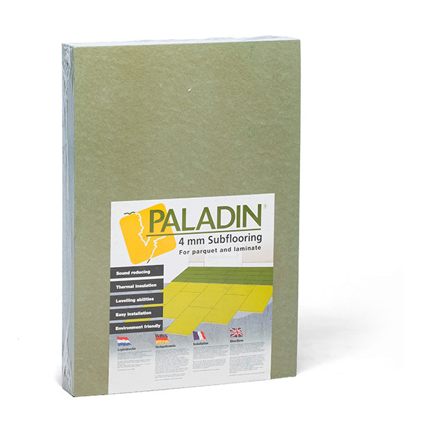 Paladin 4 mm acoustic subfloor for laminates and engineered