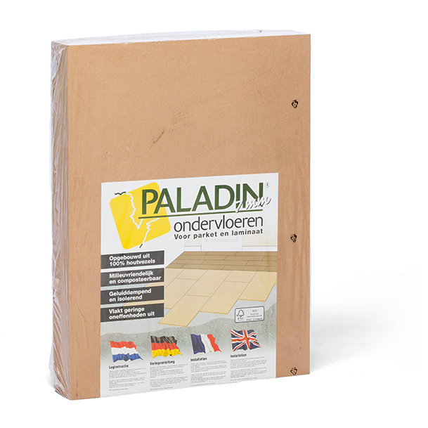 Paladin 7 mm acoustic subfloor for laminates and engineered