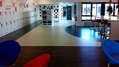Tarkett uses Jumpax® HD for its entire showroom in Paris!