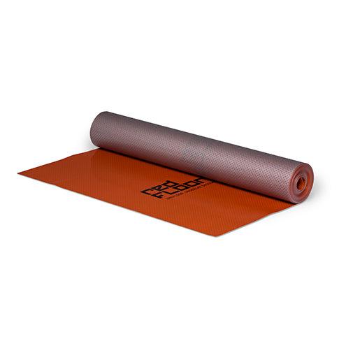 RedFloor acoustic underlayment for LVT click (PVC) over floor heating / cooling