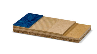 Fast-track floor prep system for all resilients and carpets, in heavy project use and over wooden floors