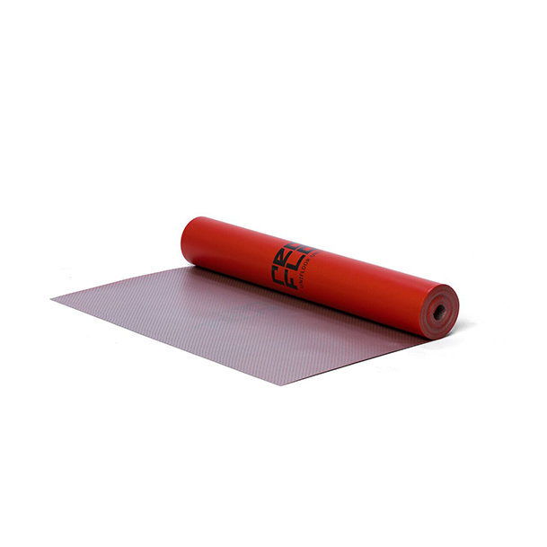 RedFloor acoustic underlayment for LVT click (PVC) over floor heating / cooling